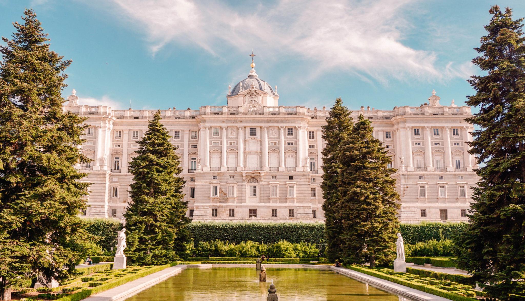 Espanha de carro - Palácio de Madri