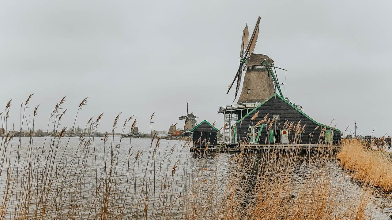 Onde encontrar moinhos de vento na Holanda