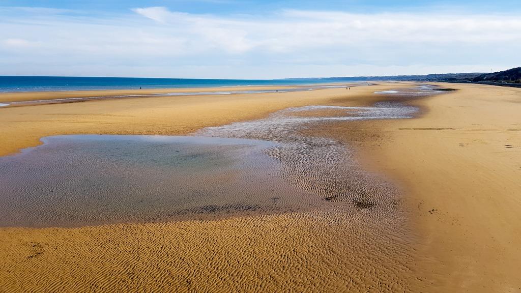 Omaha Beach - Praia do dia D - Normandia