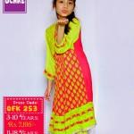 Summer Eid Kids Wear Dresses By Ochre 2015 16