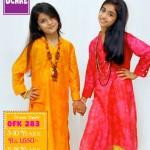 Summer Eid Kids Wear Dresses By Ochre 2015 8