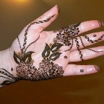 Eid Ul Azha Hand Mehndi Designs For Young Girsl 2015-16 19