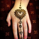Eid Ul Azha Hand Mehndi Designs For Young Girsl 2015-16 2