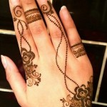 Eid Ul Azha Hand Mehndi Designs For Young Girsl 2015-16 5