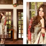 Embroidered Swiss Cotton Dresses By Rujhan 2015-16 6