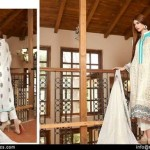 Embroidered Swiss Cotton Dresses By Rujhan 2015-16 8