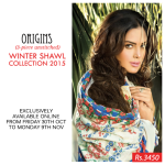 Ready To Wear Winter Kurtis By Origins 2015-16