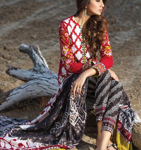 740fd6df96 Sana Safinaz Winter Shawl Collection Shalwar Kameez 2015-16