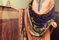 Viscose Jacquard Winter Collection By Sania Maskatiya 2015-16