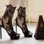 high heel footwear