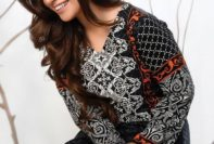 Linen Embroidered Kurtis Strawberry Collection 2016