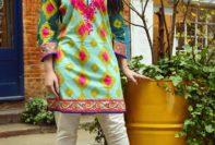 Two Piece Khaddar Pret Collection Nimsay Winter Wear 2015-16