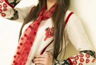Valentine's Day Kurti Designs House Of Ittehad Collection 2016