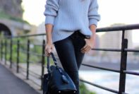 Winter Black Pant Outfits To Try This Cold Season