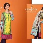 Asim Jofa Summer Tunics Luxury Collection 2016 10