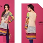 Asim Jofa Summer Tunics Luxury Collection 2016 19