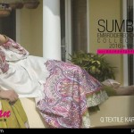 Cambric Embroidered Spring Collection Rujhan Fabrics 2016 25