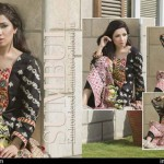 Cambric Embroidered Spring Collection Rujhan Fabrics 2016 6