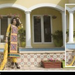 Cambric Embroidered Spring Collection Rujhan Fabrics 2016 8