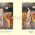 Combination Embroidered Dresses Riaz Arts Collection 2016 2