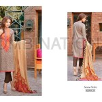 Combination Embroidered Dresses Riaz Arts Collection 2016 4