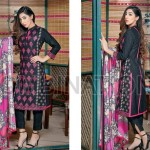 Combination Embroidered Dresses Riaz Arts Collection 2016 6
