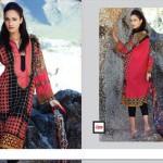 Spring Lawn Shalwar Kameez LSM Fabrics 2016 7