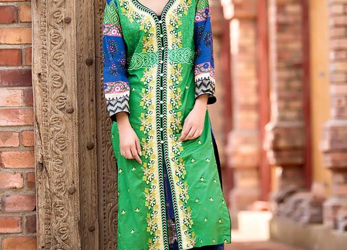 Subhata Embroidered Spring Collection Shariq Textiles 2016