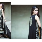 Amna Ismail Semi Stitched Chiffon Spring Collection 2016 13