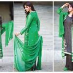Amna Ismail Semi Stitched Chiffon Spring Collection 2016 2