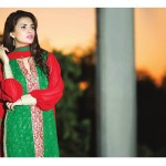 Amna Ismail Semi Stitched Chiffon Spring Collection 2016 21