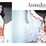 Amna Ismail Semi Stitched Chiffon Spring Collection 2016 3