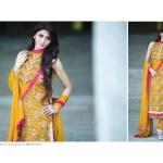 Amna Ismail Semi Stitched Chiffon Spring Collection 2016 4