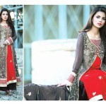 Amna Ismail Semi Stitched Chiffon Spring Collection 2016 7