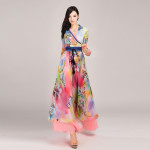 Long Maxi Dresses For The Spring Season Events