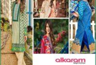 Alkaram Luxurious Lawn Shalwar Kameez Vol-2 2016