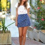 Colorful Polka Dots Summer Outfits Women Should See 2