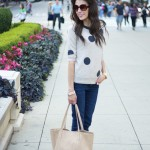 Colorful Polka Dots Summer Outfits Women Should See 6