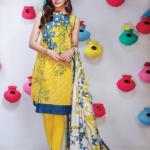 Khaadi Lawn Colorful Geometrics Collection 2016 5