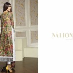 Swiss Lawn Party Wear Dresses Nation By Riaz Arts 2016 16