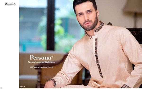 72bc710bd8 Gul Ahmed Men Eid Shalwar Kameez Collection 2016