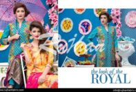 Rujhan Eid Lawn Collection Embroidered Dresses 2016