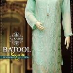 Batool Kazmi Fancy Eid Collection Al Karim Fabrics 2016