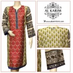 Batool Kazmi Fancy Eid Collection Al Karim Fabrics 2016 2