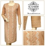 Batool Kazmi Fancy Eid Collection Al Karim Fabrics 2016 6