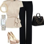 Flared Trousers For Women Polyvore Combos For Autumn 3