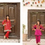Kayseria Eid Kids Wear Little Girls Dresses 2016 4