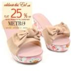 Metro Shoes Eid Footwear For Women 2016 2