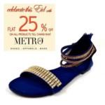 Metro Shoes Eid Footwear For Women 2016 6