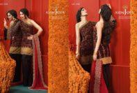 Asim Jofa Luxury Embroidered Chiffon Dresses